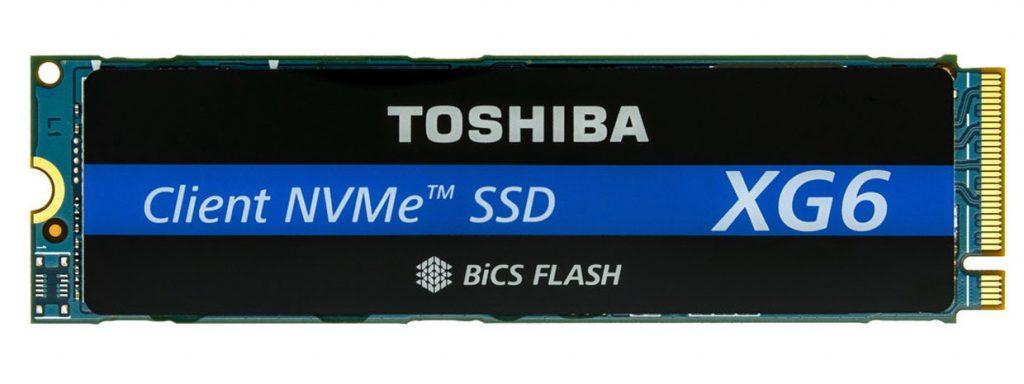 SSD NVMe XG6 de Toshiba