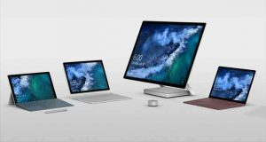La gamme Microsoft Surface