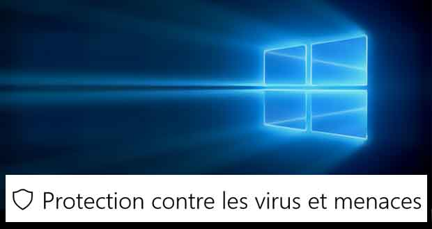 Windows Defender sous Windows 10