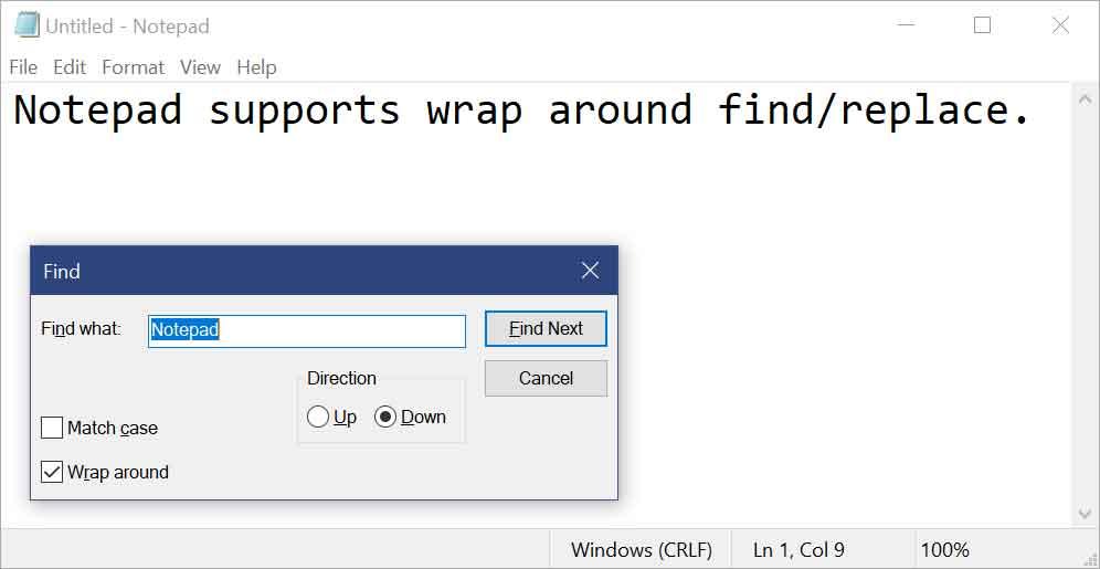 Windows 10 Redstone 5 build 17713