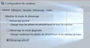 Windows 10 et ses différentes options de démarrage
