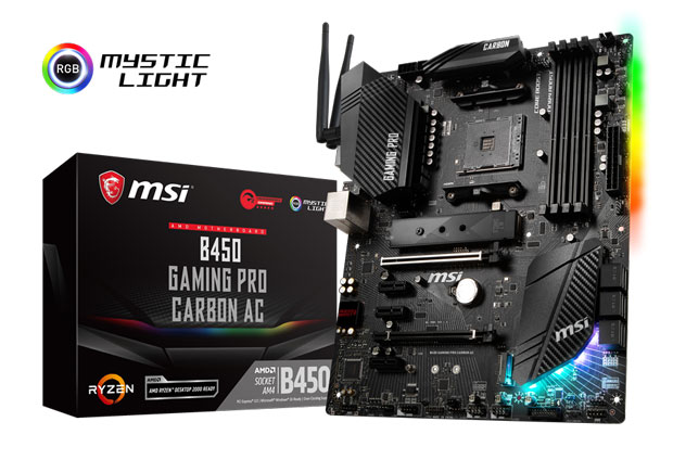 Carte mère MSI B450 GAMING PRO CARBON AC