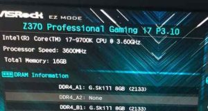 Processeur Intel Core i7-9700K
