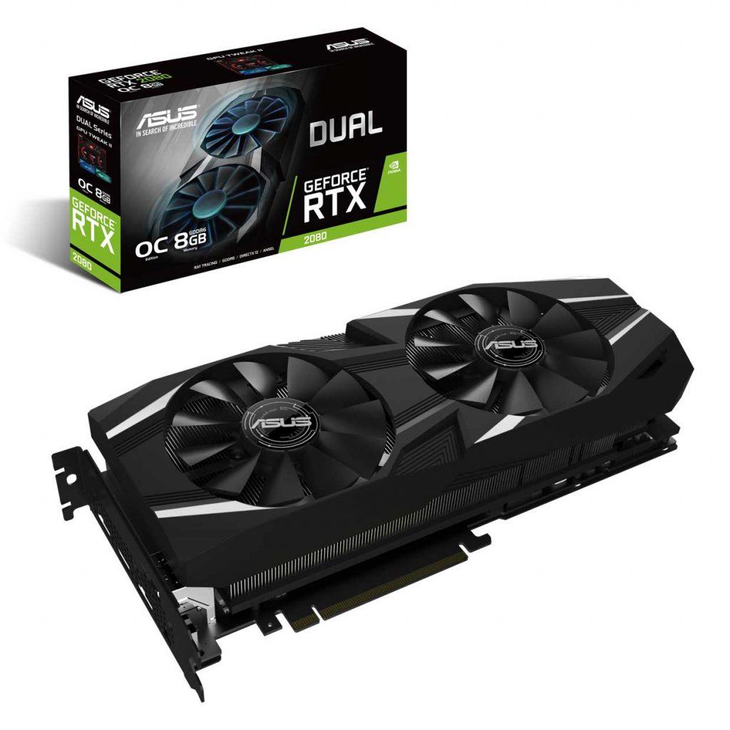 Dual GeForce RTX 2080 OC Edition
