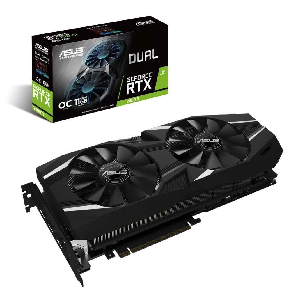 Dual GeForce RTX 2080 TI OC Edition