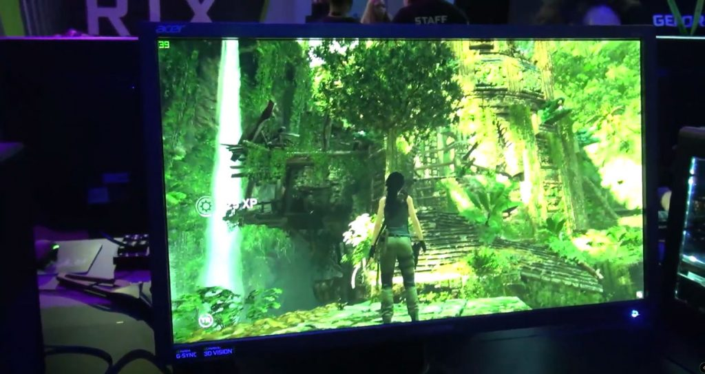 GeForce RTX 2080 Ti et Shadow of the Tomb Raider