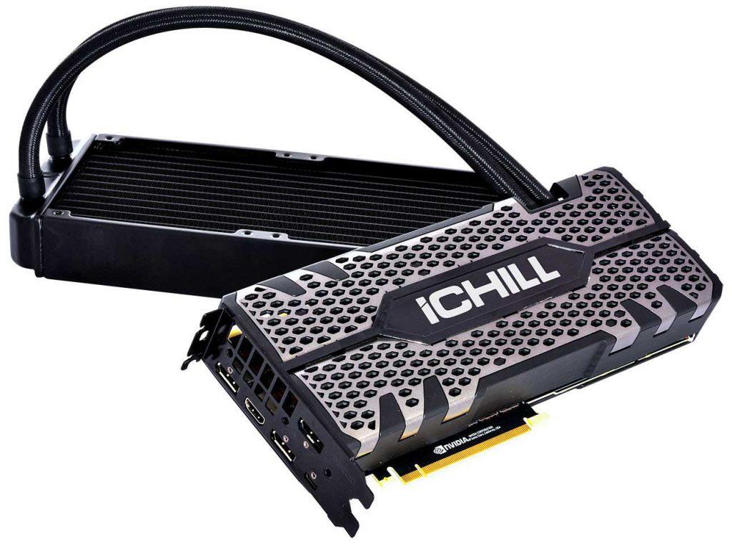 GeForce RTX 2080 Ti iCHILL BLACK Edition d'Inno3D