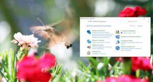 Windows 10 v1803, le panneau de configuration