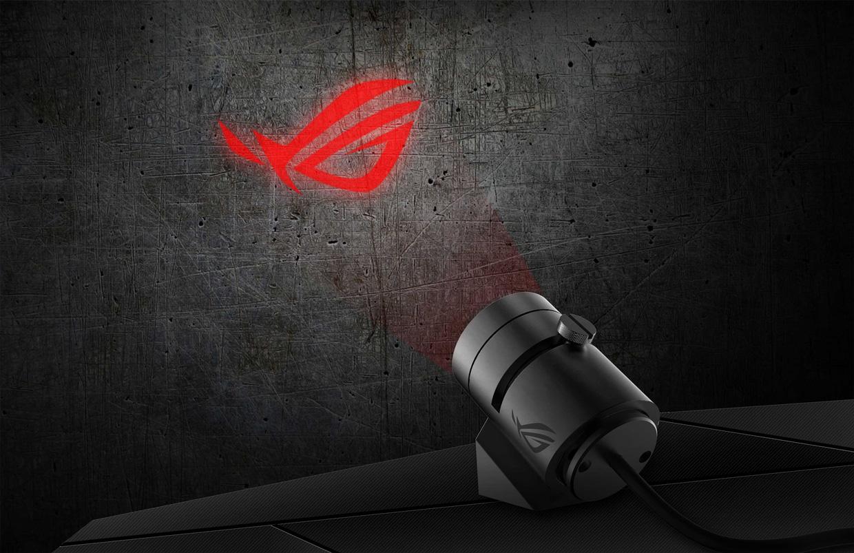 Rog Spotlight, Asus projette son RGB Aura - GinjFo
