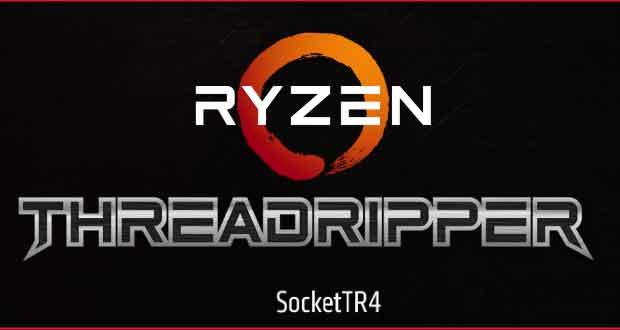 Processeur Ryzen Threadripper d'AMD