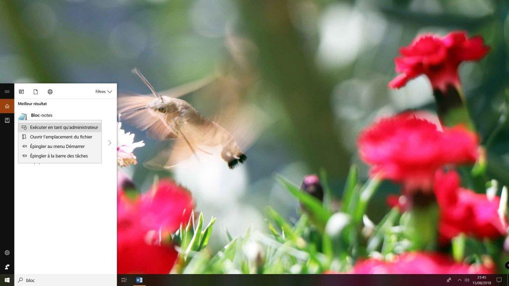 Windows 10 et le fichier Hosts