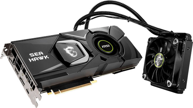 GeForce RTX 2080 Ti SEA HAWK X