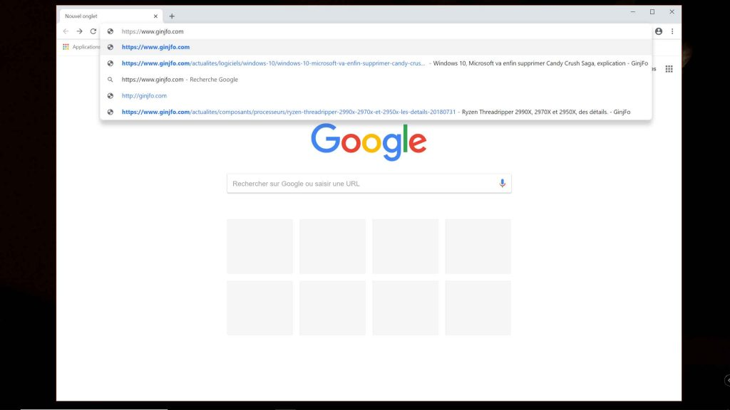 Chrome 69 – la fonction de troncature d'URL