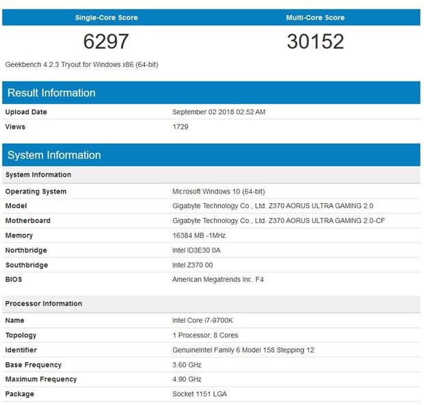 Core i7-9700k Vs Ryzen 7 2700X, a quoi faut-il s'attendre ? - GinjFo