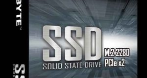 M.2 PCIe SSD de Gigabyte