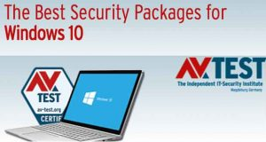 Best Security Packages For Windows 10, AV-Test - Période aout 2018