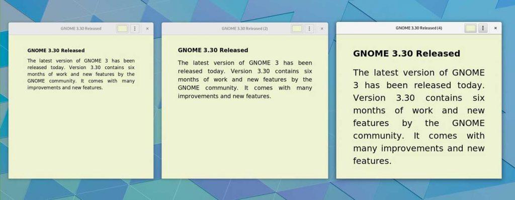 GNOME 3.30 « Almeria »