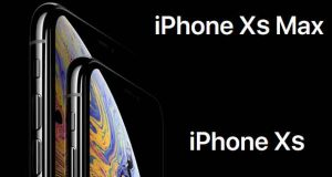 iPhone Xs et iPhone Xs Max d'Apple