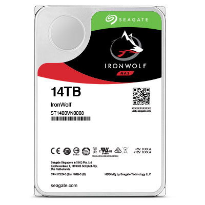 Disques durs NAS IronWolf de Seagate