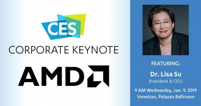 CES 2019 – AMD annonce sa conférence de presse dédiée aux 7 nm