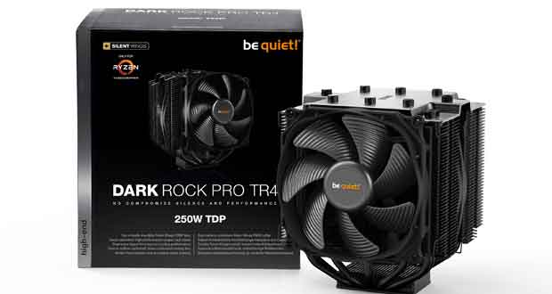 Ventirad Dark Rock Pro TR4 de Be Quiet