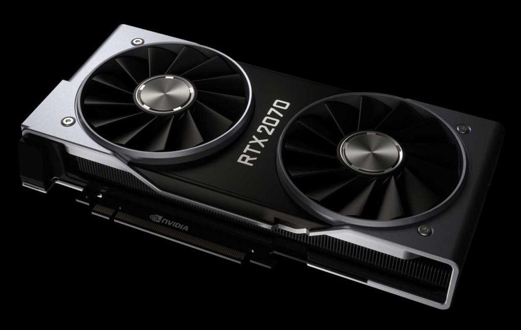 GeForce RTX 2070 Founders Edition de Nvidia