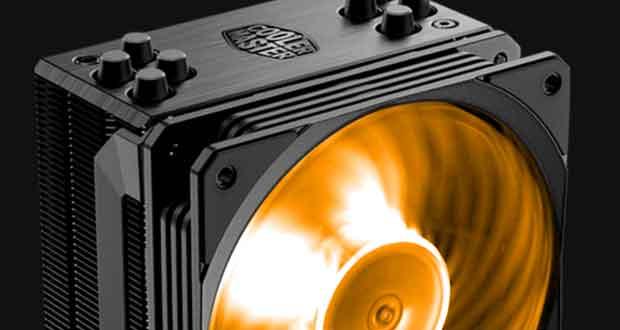 Ventirad Hyper 212 RGB Black Edition de Cooler Master