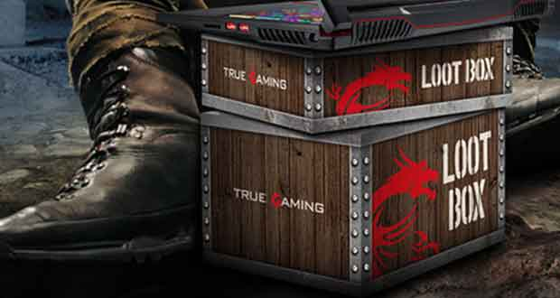 Loot Box de MSI