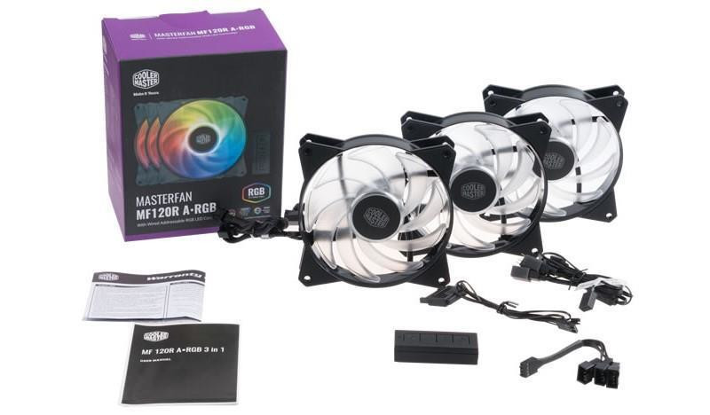 Ventilateur MasterFan MF120R A-RGB de Cooler Master
