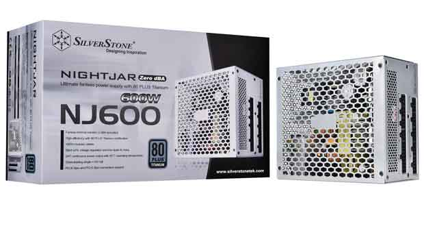 Alimentation NightJar NJ600 de SilverStone