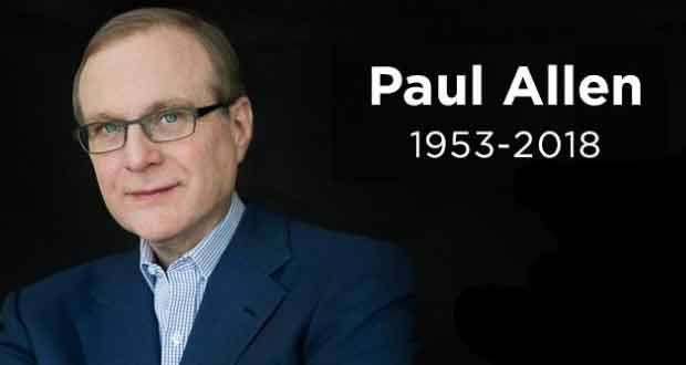 Paul Gardner Allen cofondateur de Microsoft