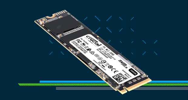 SSD Crucial P1 3D NAND NVMe PCIe