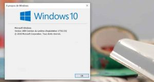 Windows 10 v1809