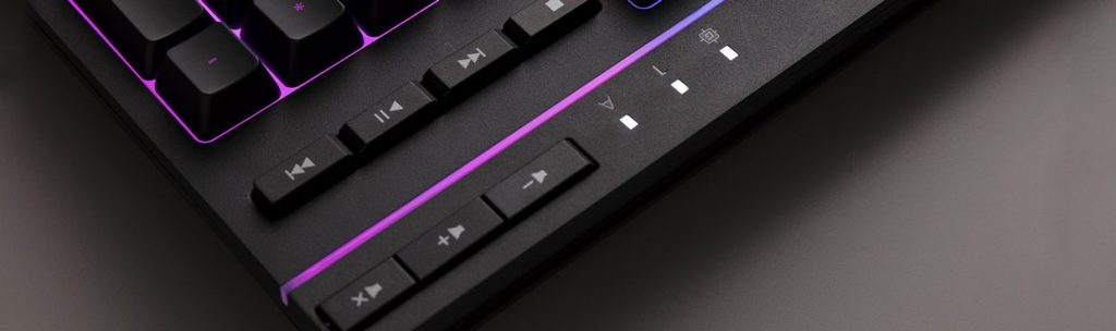 Clavier gaming Alloy Core RGB d'HyperX