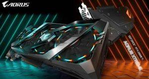 Aorus GeForce RTX 2080 Ti Aorus GeForce RTX 2080 Ti Xtreme 11G de Gigabyte