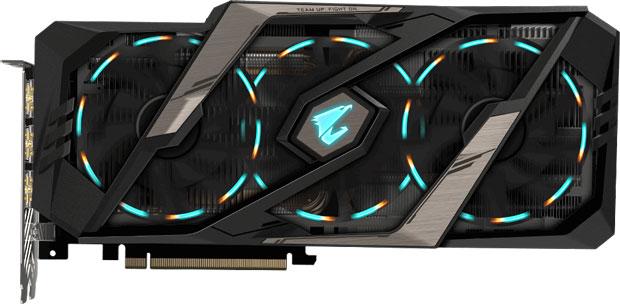 Aorus GeForce RTX 2080 Ti Xtreme 11G de Gigabyte