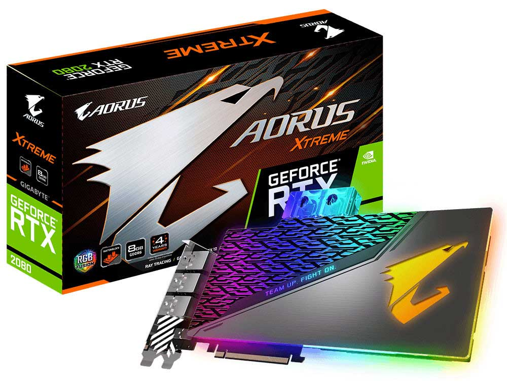 Aorus Xtreme RTX 2080 WaterForce WB