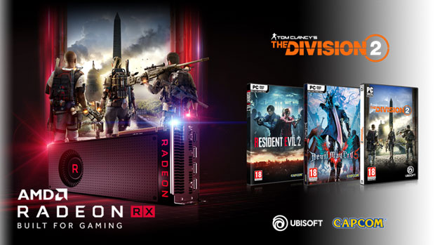 Bundle Raise the Game Fully Loaded d'AMD