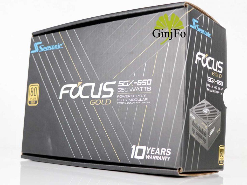 Alimentation Focus SGX-650 de Seasonic