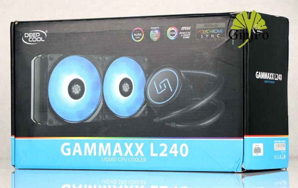 Watercooling AIO Gammaxx L240 de Deepcool