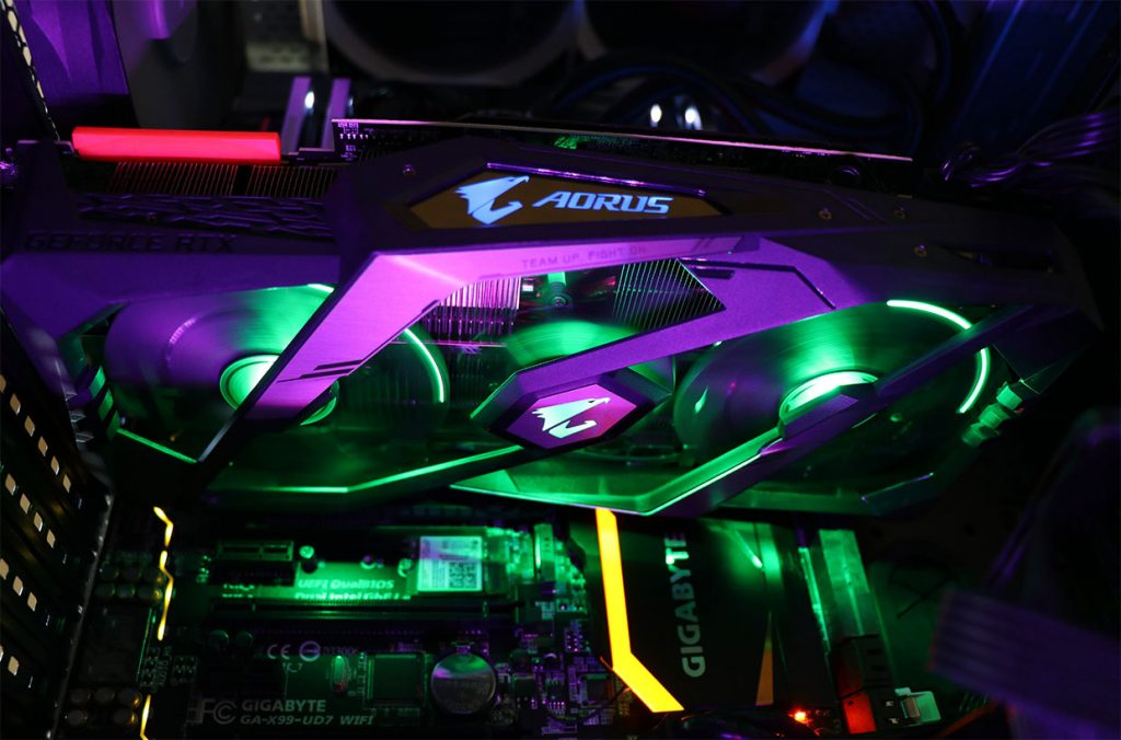 Carte graphique Aorus GeForce RTX 2080 Ti  de Gigabyte