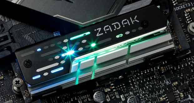 MOAB M.2 RGB de ZADAK 511