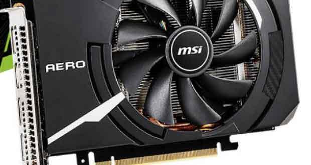 Aero ITX GeForce RTX 2070 8 Go de MSI