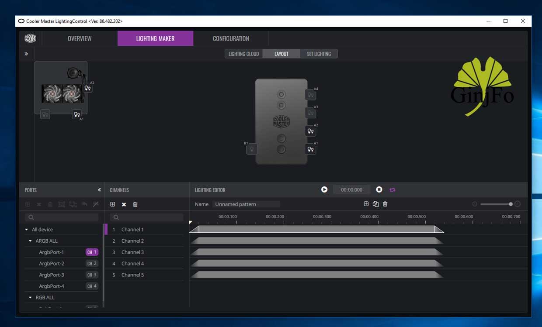 ARGB Lighting Control Software - GinjFo