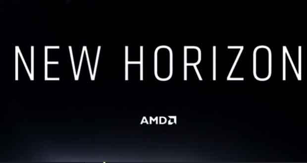Evènement New Horizon d'AMD