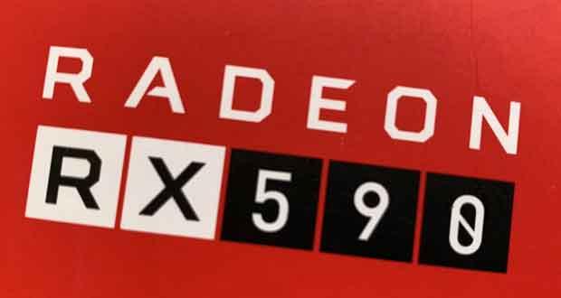 Radeon RX 590 d'AMD