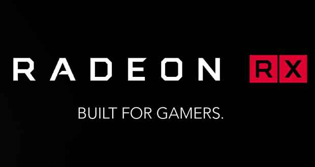 Carte graphique Radeon RX d'AMD