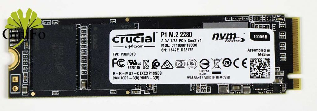SSD Crucial P1 1 To