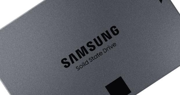 SSD 860 QVO signé Samsung