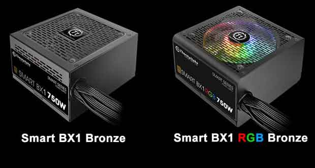 Alimentation Smart BX1 RGB de Thermaltake
